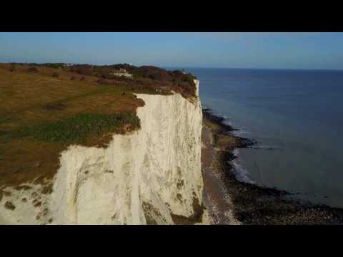 The White Cliffs of Dover (DJI Mavic Pro)