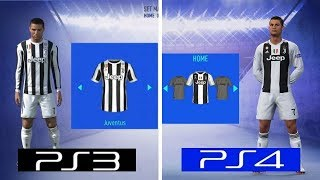FIFA 19 | PS4 VS PS3 | Graphics Comparison