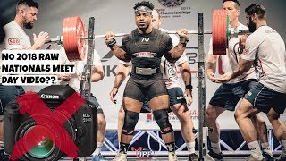 665LB SQUAT AT UNDER 200LB BW | No 2018 Raw Nationals Video? | The Get Back Ep. 13