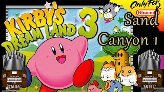 Sand Canyon 1 (Kirby's Dream Land 3) Organ Cover