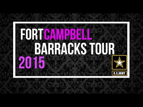 Barracks Tour- Fort Campbell KY  2015❤️