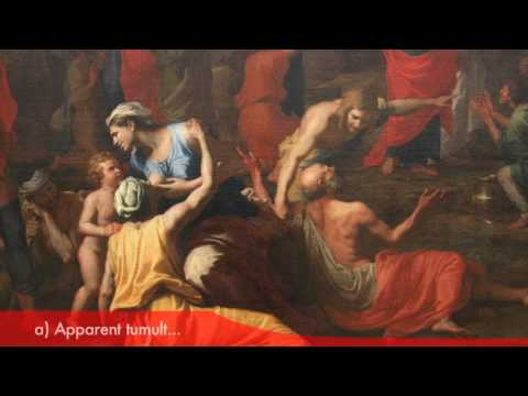 Nicolas Poussin in Le Louvre - The Gathering of Manna (HD version)