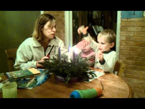 Advent Wreath Lighting song