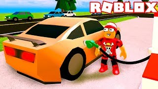 I became a GAS Station ATTENDANT at ROBLOX → Gas stations Simulator 🎮