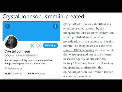 Pro Black Twitter Account Crystal Johnson was a Russian Troll