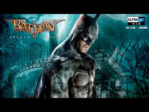Batman Arkham Asylum Pelicula Completa Español UHD - Todas las Cinematicas (Game Movie 2016)
