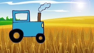 Рисование для детей 3-4 лет  Давай нарисуем Трактор