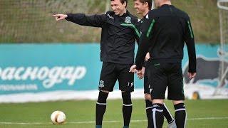 видео «Зенит» провел открытую тренировку перед матчем с «Амкаром»
