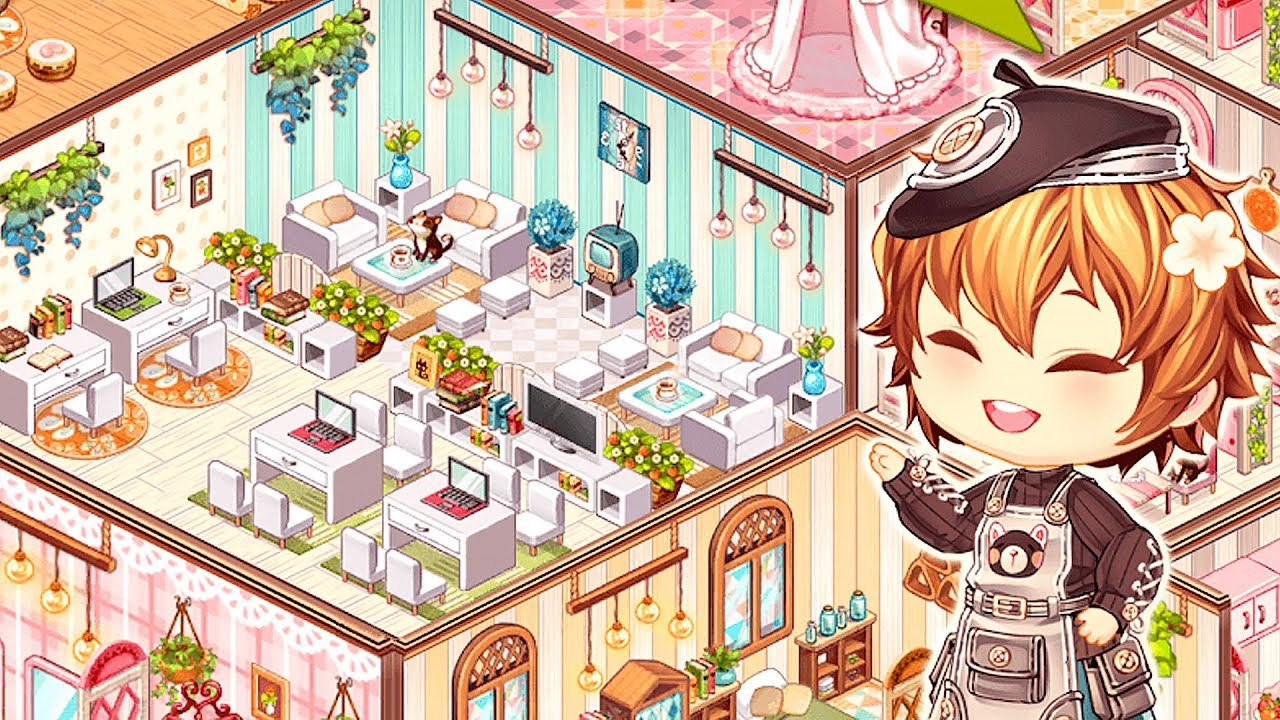 Kawaii Home Design House Decorating Game Gameplay Youtube