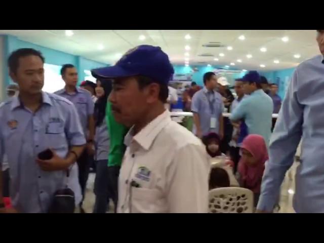 Lawatan YBhg Tan Sri Dr. Ali Hamsa, KSN ke #myDOF Valley #MAHA2016