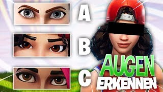 FORTNITE SKINS at the EYES RECOGNIZE!
