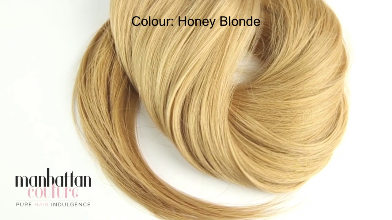 Manhattan Couture Honey Blonde Extensions Youtube