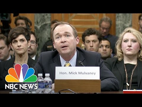 Mick Mulvaney Says He Made A