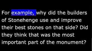 Places - England - Stonehenge - Mysterious Stone Circles