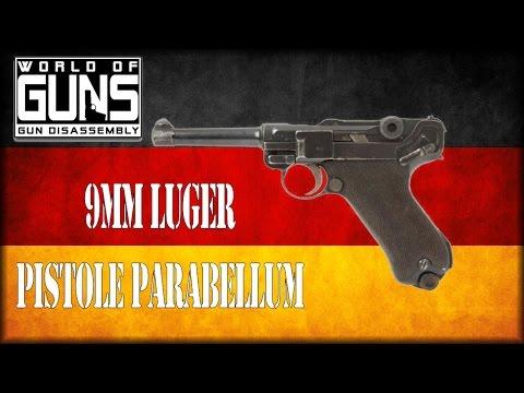 World of Guns - Gun Disassembly - German Luger P08 Parabellum