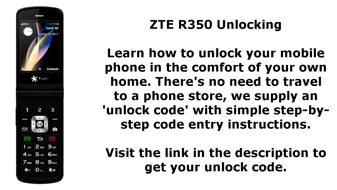 Unlock ZTE R350 - NP Code