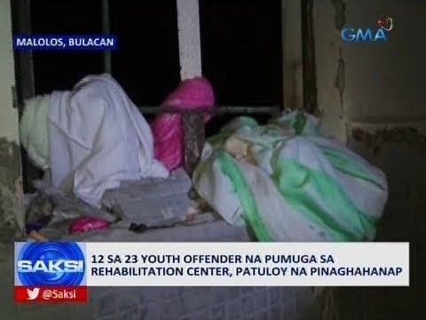 Saksi: 12 sa 23 youth offender na pumuga sa rehabilitation center, patuloy na pinaghahanap