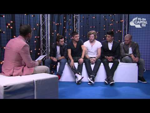 Marvin Humes interview with The Wanted - Capital FM Summertime Ball 2013