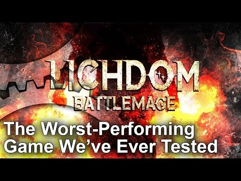 Lichdom Battlemage PS4/Xbox One: Worst Frame-Rate We