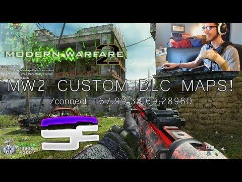 MW2 CUSTOM DLC MAPS! (IW4X - New Server)