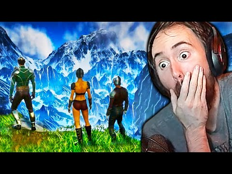 The Wait is OVER! Asmongold Tries Ashes of Creation | NEW MMO Gameplay