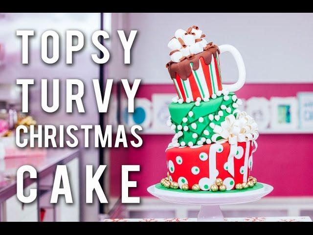 how-to-make-a-topsy-turvy-christmas-cake-festive-funfetti-with-chocolate-buttercream-ganache