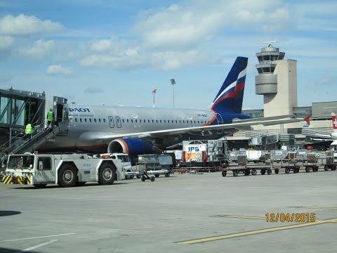 Aeroflot Airbus A320 - 214 SVO - Zurich Take Off