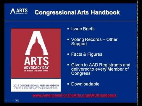 Introduction to Arts Advocacy Day Webinar