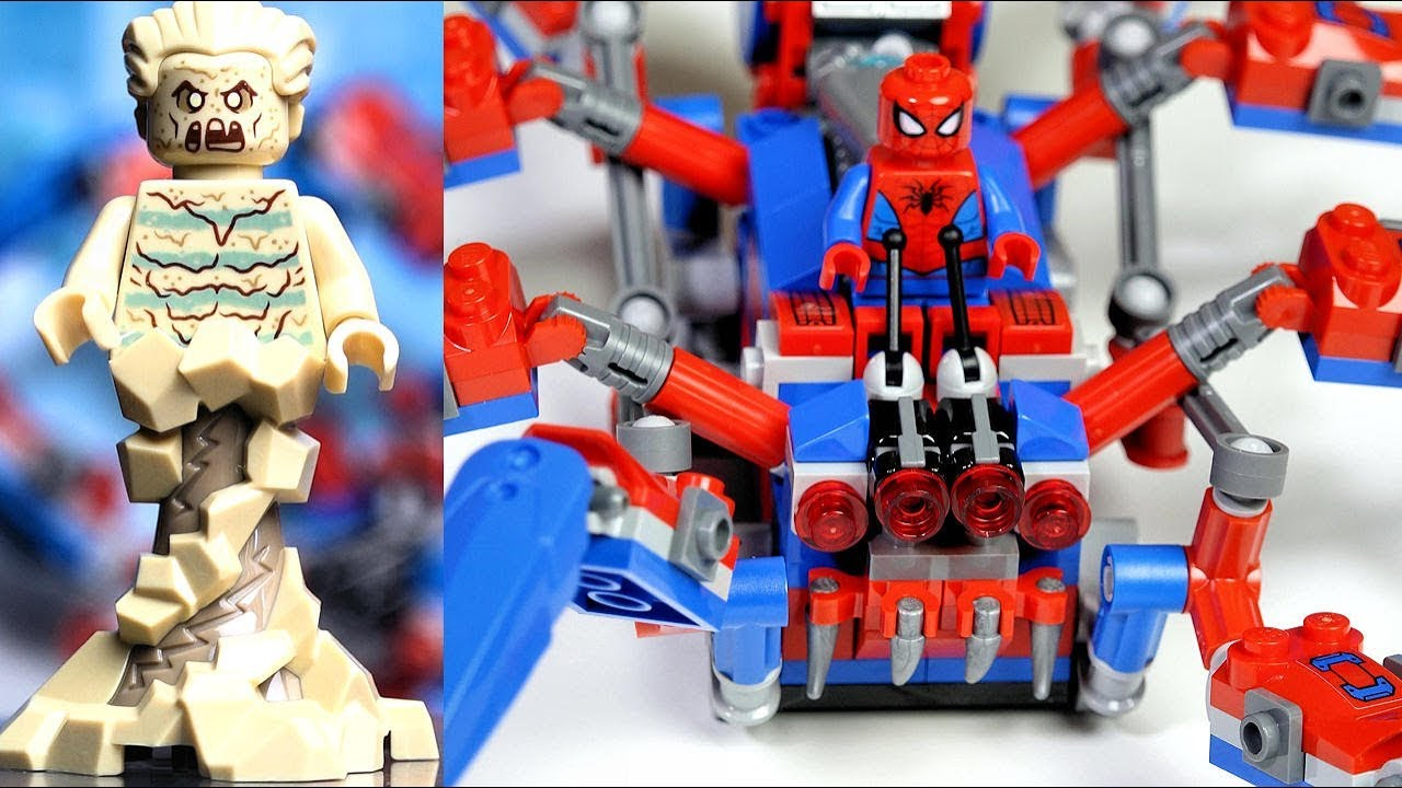 76114 LEGO Marvel Super Heroes Spider-Man Sandman Minifigure