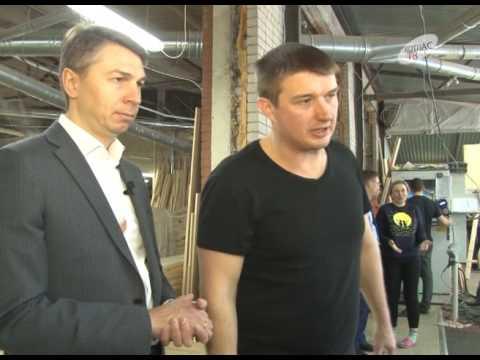 Репортаж о нашем заводе в городе Котлас