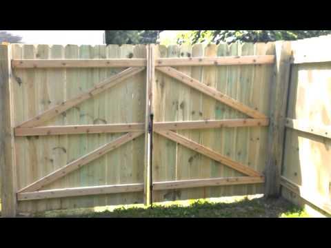Wood Privacy Fence Nashville K C Company