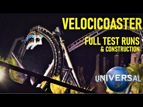 Velocicoaster Begins TESTING!