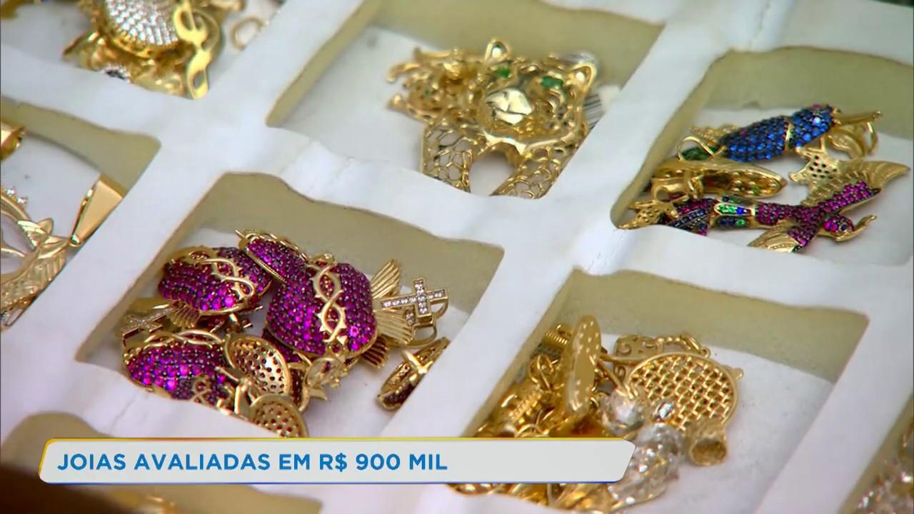PRF apreende carga de jóias avaliadas em R$ 900 mil