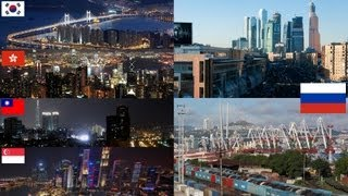 Russian Economy is as big as Korea, Taiwan, Hong Kong and Singapore together