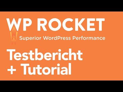 WP Rocket Review + Tutorial » Das beste Caching-Plugin und PageSpeed-Plugin für WordPress im Test!