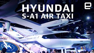 Hyundai S-A1 Air Taxi first look at CES 2020