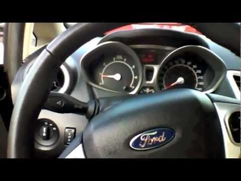 2011 Ford Fiesta SEL Sedan Start Up, Quick Tour, & Rev - 3K