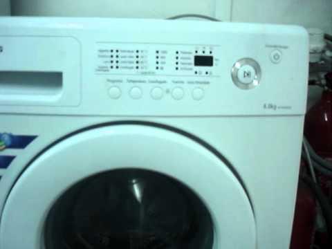 en venta lavadora samsung en barcelona de 6 kilos youtube. Black Bedroom Furniture Sets. Home Design Ideas