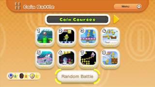 New Super Mario Bros U Coin Rush Mode 4 Player Gameplay
