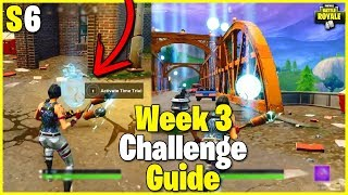 All Time Trial Locations + 15m Tomato Throw | S6 Week 3 Challenge Guide - Fortnite
