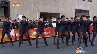 """Radio City Rockettes """"Heart and Lights"""" on Today Show"""