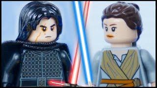 LEGO Star Wars Rey vs Kylo Ren STOP MOTION Prison Break (PART 2) LEGO Star Wars | By LEGO Worlds