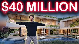 Touring a $44,000,000 Mansion in the Hollywood Hills