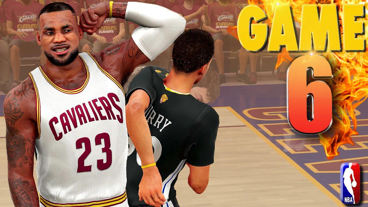 Cavaliers vs warriors game 7 predictions - Cleveland Cavaliers Vs Golden State Warriors Game 6 Nba Finals Nba 2k16 Prediction