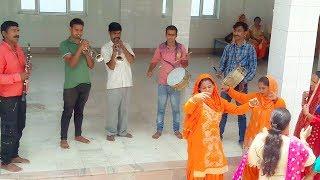 Pahari Band Baaje Dance at Maa Chaturbhuja Temple || Himachali Culture ||H.P. Mandi ||Joginder Nagar