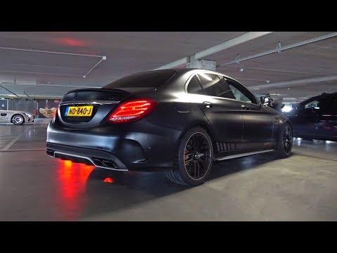 LOUD Modified Mercedes-AMG C63 S Sedans INVASION! Crazy Exhaust SOUNDS!