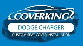 How to Install 2012-2018 Dodge Charger Custom Seat Covers