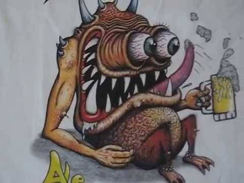 Rat fink style metal work and more