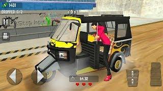 OFFROAD TOURIST TUK TUK AUTO RICKSHAW RACING 3D GAME   Rickshaw Games Android GamePlay FHD