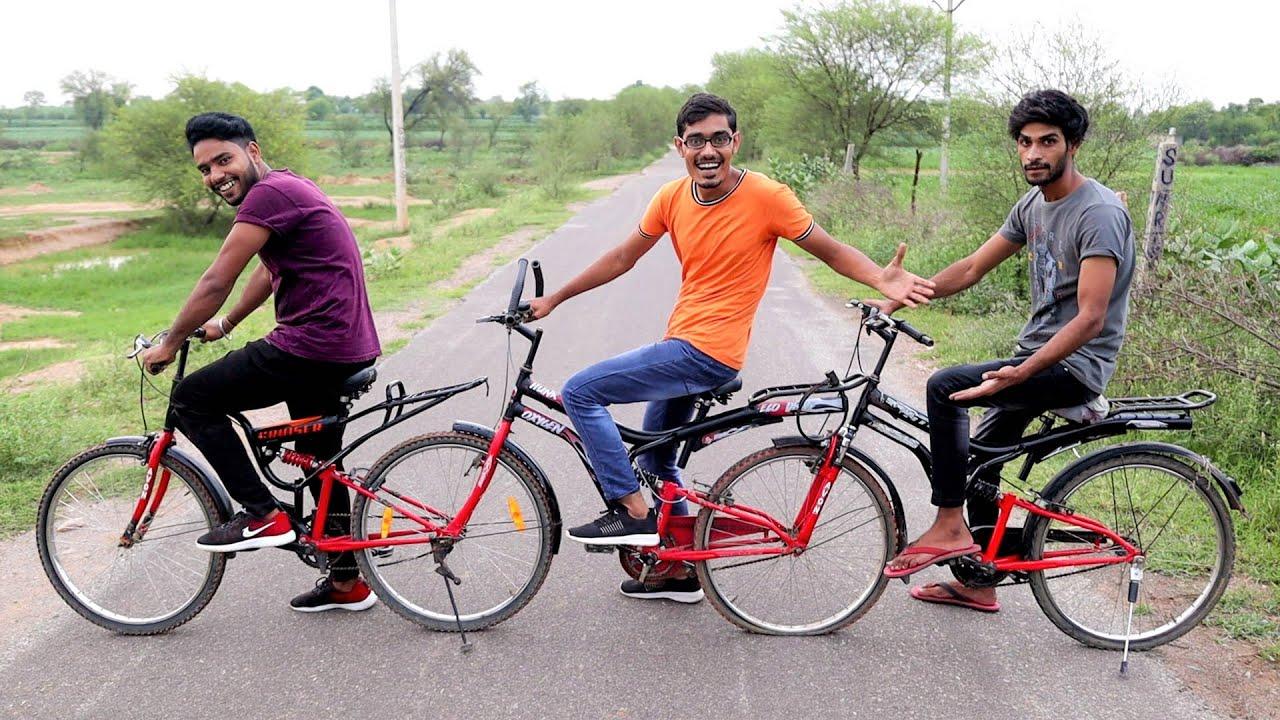 We Made 4 Wheeler Quad-Cycle   ऐसी अजीबोगरीब साइकिल आपने कभी नहीं देखी होगी   Works Perfectly🔥